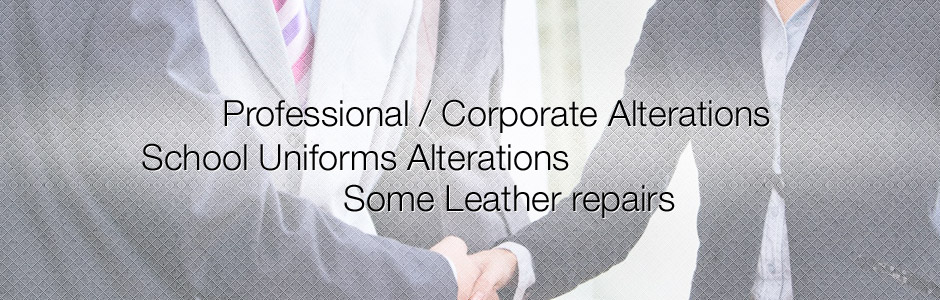 Professional/Corporate Alterations